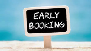 SPECIAL OFFER  EARLY BOOKING 2021
